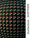 panel multicolored led lights    Shutterstock . vector #343979690