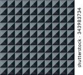 soundproof wall pattern.... | Shutterstock .eps vector #343983734
