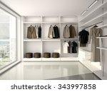 3d illustration of bright ... | Shutterstock . vector #343997858