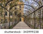 Tunnel Garden At Schonbrunn...