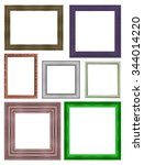 Picture Frame Isolated On Whit...