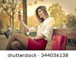 a nice talk | Shutterstock . vector #344036138
