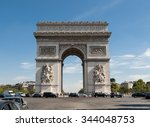 paris  france   sept 9  2014 ... | Shutterstock . vector #344048753