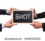 two man holding mini blackboard ... | Shutterstock . vector #344054330