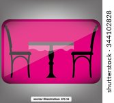 table and chairs | Shutterstock .eps vector #344102828