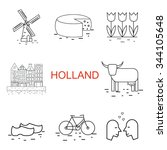 Vector  Line Holland Icon....