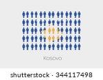 illustration of men and women... | Shutterstock . vector #344117498
