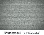 television monitor grainy white ...   Shutterstock . vector #344120669