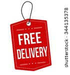 free delivery red leather label ...