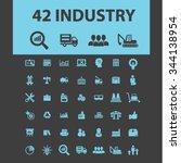 industrial business  factory ... | Shutterstock .eps vector #344138954