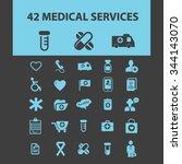 medicine research  medical... | Shutterstock .eps vector #344143070