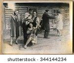 ussr   circa 1970s  an antique...   Shutterstock . vector #344144234