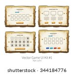 vector graphical user interface ...