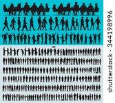 vector business people... | Shutterstock . vector #344198996