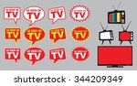 collection of as seen on tv...   Shutterstock .eps vector #344209349