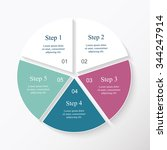 vector infographic. template... | Shutterstock .eps vector #344247914