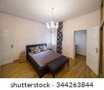 apartment bedroom interior | Shutterstock . vector #344263844