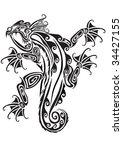 salamander   Shutterstock .eps vector #34427155