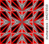 seamless geometric pattern for... | Shutterstock .eps vector #344273510