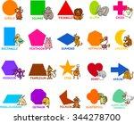 cartoon vector illustration of... | Shutterstock .eps vector #344278700
