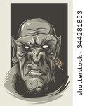 goblin   Shutterstock .eps vector #344281853