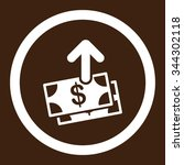 spend money vector icon. style... | Shutterstock .eps vector #344302118