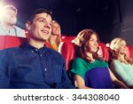 cinema  entertainment and... | Shutterstock . vector #344308040