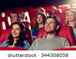 cinema  entertainment and... | Shutterstock . vector #344308058