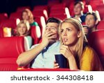 cinema  entertainment and... | Shutterstock . vector #344308418