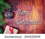 christmas background | Shutterstock . vector #344335049