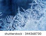 Frost Pattern On The Window