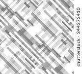 seamless geometric pattern. | Shutterstock .eps vector #344373410