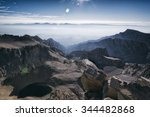 view from atop mt whitney | Shutterstock . vector #344482868