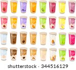 vector illustration of various... | Shutterstock .eps vector #344516129