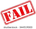 Fail Rubber Stamp Sign Grunge...