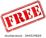 free rubber stamp | Shutterstock .eps vector #344519834