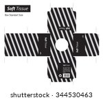 tissue box vector   standard... | Shutterstock .eps vector #344530463