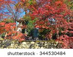 kyoto  japan 27 november 2015   ... | Shutterstock . vector #344530484
