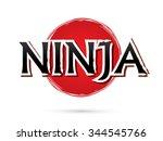 Ninja  Font   Text  Graphic...