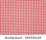 Gingham Cloth Background With...