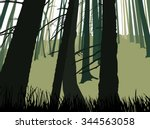 image landscape. eco banner.... | Shutterstock . vector #344563058