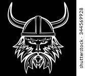 line illustration of an vikings ...   Shutterstock .eps vector #344569928