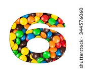 6   number of alphabet made of... | Shutterstock . vector #344576060