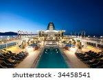 Cruise Ship Sailing In Alaska...