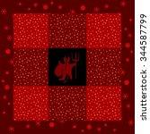 Regular Red Patchwork Quilt...