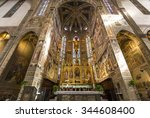 florence  italy  october 26 ... | Shutterstock . vector #344608400