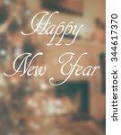 background blur with vintage... | Shutterstock . vector #344617370