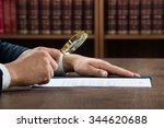 cropped image of lawyer... | Shutterstock . vector #344620688