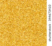 gold glitter seamless pattern... | Shutterstock .eps vector #344673410