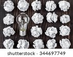 light bulb | Shutterstock . vector #344697749